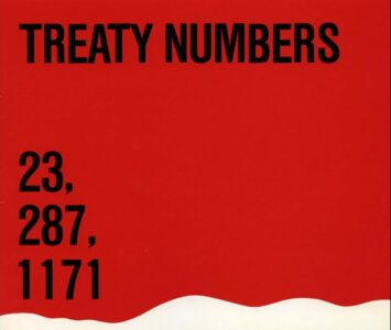 WAG organizes the Treaty Numbers 23, 287, 1171 exhibition. This is the first time a public art gallery in Canada displays contemporary First Nations art.