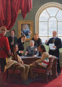 <strong>Kent Monkman</strong>. <em>The Subjugation of Truth</em>, 2016. Collection of Donald R. Sobey.