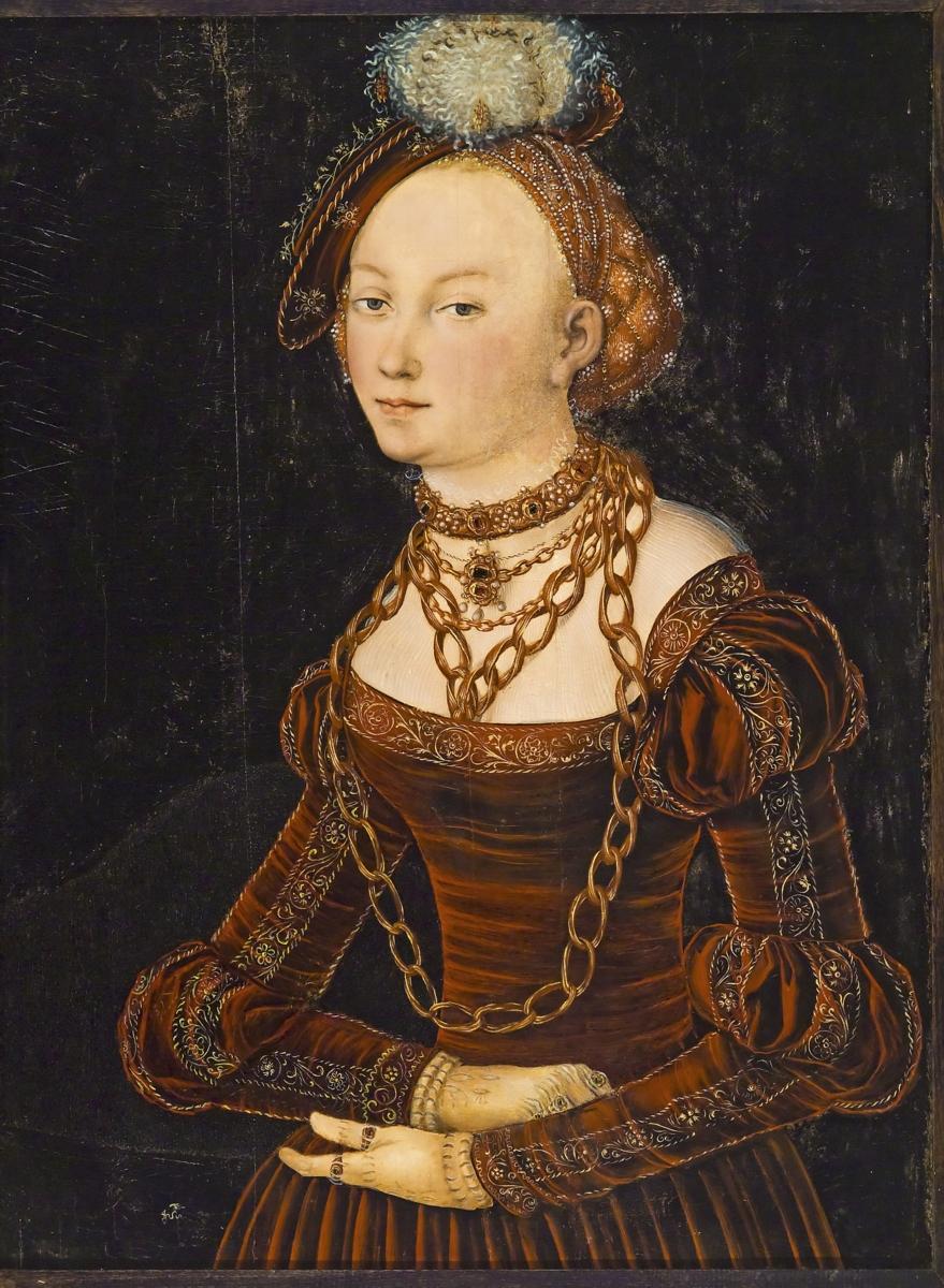 G-73-51 Portrait of a Lady Lucas Cranach the Elder