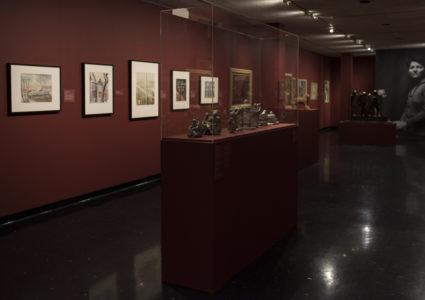 Pegi Nicol MacLeod At the UN, c. 1945 oil on canvas 73.7 x 83.9 cm Collection of the Winnipeg Art Gallery. Gift of Mr. Peter Dobush, G-65-137. Photographer: Ernest MayerPhotographer: Serge Gumenyuk