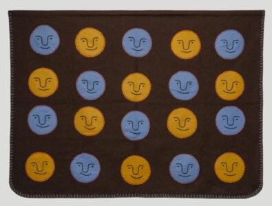Irene Avaalaaqiaq Tiktaalaaq. Inuit (Baker Lake), b. 1941. Heads, 1985–1986. wool duffle, felt, embroidery floss. Collection of the Winnipeg Art Gallery. Gift of Leah Erickson (aka Maureen Bereskin), 2018-168
