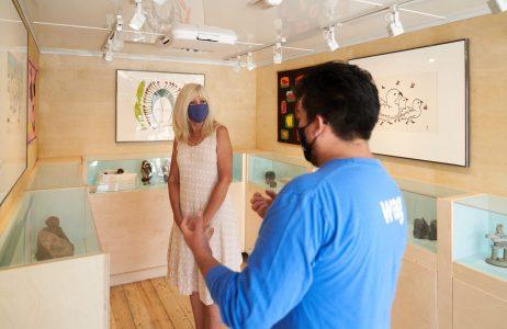 Nakatamaakewin: Bringing art to you! Photo: David Lipnowski