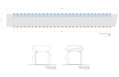 Eduardo Aquino. Installation Detail: Tapume, 2021.