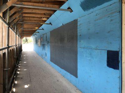 WAG-Qaumajuq construction hoarding, 2020